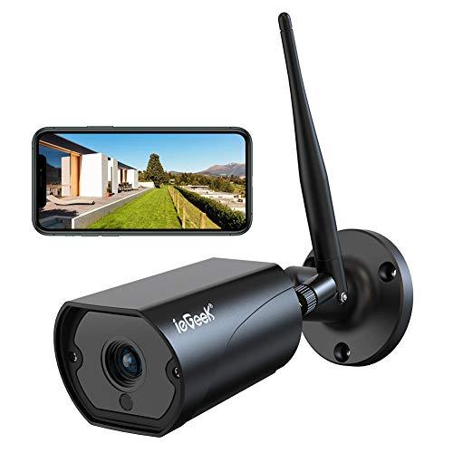 ieGeek Überwachungskamera Aussen, WLAN IP Kamera 1080P WiFi Kamera mit 5dBi...