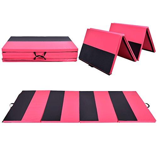 COSTWAY Weichbodenmatte 300 x 120 x 5 cm | Gymnastikmatte klappbar | Yogamatte verbindbar | Turnmatte groß | Klappmatte | Fitnessmatte Farbwahl...