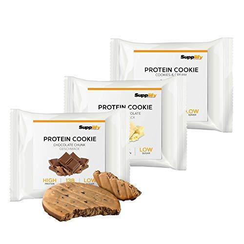 Protein Cookies nur 155 kcal Mix Box wie Proteinriegel...