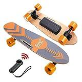Nesaila 20km/h Elektrisches Skateboard, 7-lagiges Ahorn...
