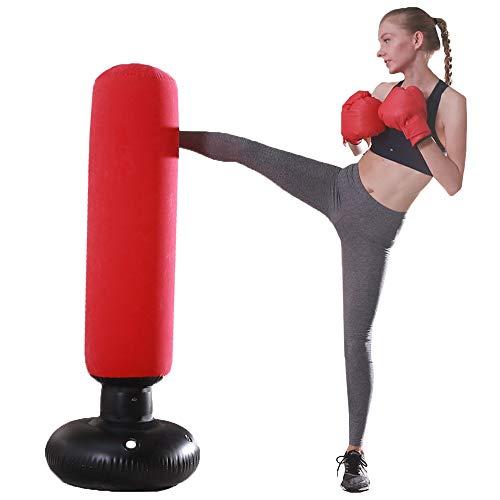 XIPI Boxsack,Standboxsack Boxsack Stehend Kinder/Erwachsene Punchingball Boxen Freistehender Boxsack