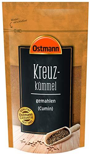 Ostmann Kreuzkümmel gemahlen 250 g, gemahlener Cumin, Kreuzkümmel-Pulver, für indische & asiatische Gerichte