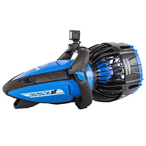 Yamaha Seascooter Elektro 220Li Unisex Erwachsene, Blau, 31,9 x 30 x 61 cm