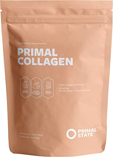Collagen Pulver - Kollagen Hydrolysat Peptide Typ 1, 2 und 3 - Aus Weidehaltung...