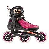 Rollerblade Damen MACROBLADE 110 3WD W Inline-Skate, Raspberry/Mango, 235