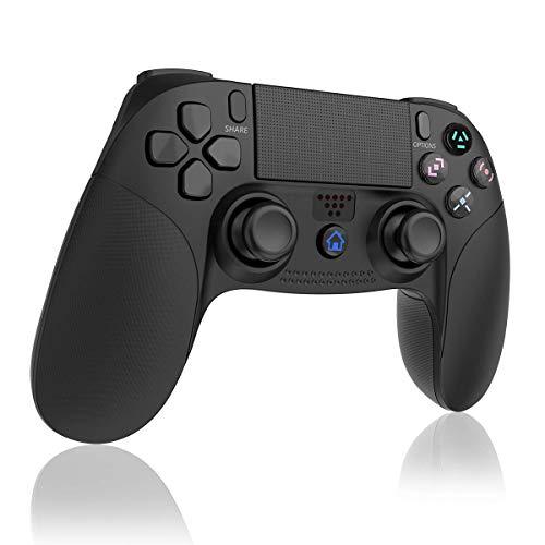 TUTUO Wireless Controller für PS4 Controller, Bluetooth Controller Gamepad Joystick mit 3,5 mm Kopfhöreranschluss kompatibel für PS4/PS4 Slim/PS4...