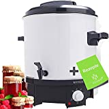 KESSER Einkochautomat 27 liter | 1800 Watt | Temperature of 30-100 ° C | Continuous operation | Automatic switch-off Fully automatic cooker, hot drinks machine, ...