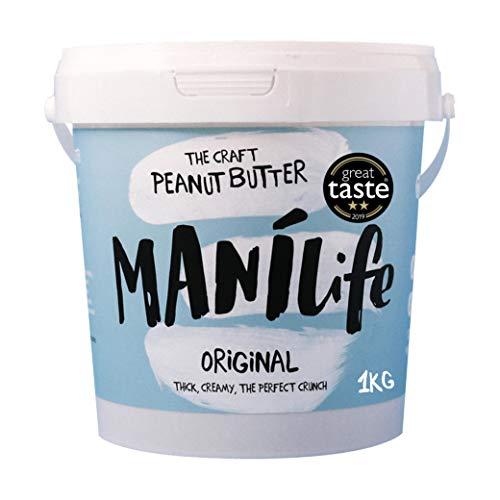 ManiLife Erdnussbutter - Peanut Butter - Alles Natürlich, ein Anbaugebiet, ohne...