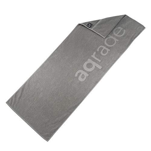 aqrade Sporthandtuch I Fitness Handtuch mit Fixierung I 120x50cm I Gym Handtuch...