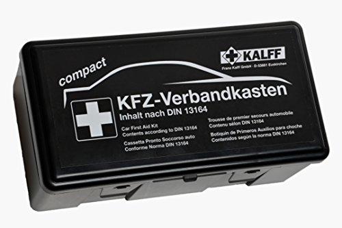 KALFF 23503 Auto Verbandskasten Kompakt Din 13164, Kfz Erste Hilfe Set, Box für...