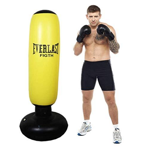 Standboxsack,Boxsack aufblasbar stehend Aufblasbarer Standboxsack Freistehendes Boxen Ziel Inflatable Punch Bag Heavy Duty Boxen Taschen...