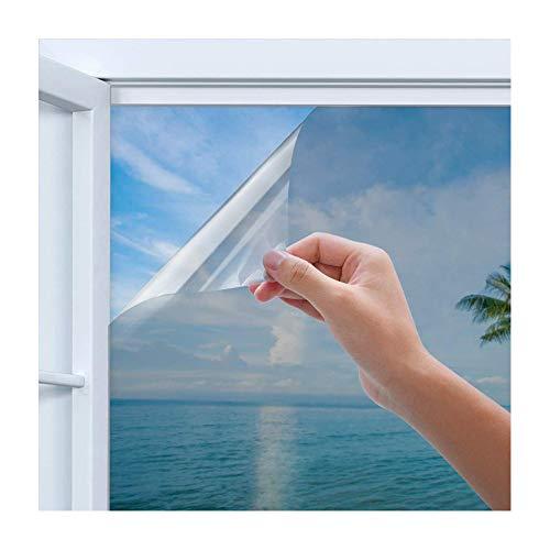 Rhodesy Spiegelfolie Selbstklebend Sichtschutz, Reflektierende Fensterfolie...