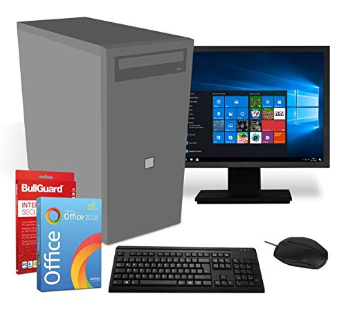 Multimedia PC Komplettsystem | Intel-CPU@ 2,8GHz | 8GB | 256GB SSD | DVD-Brenner...