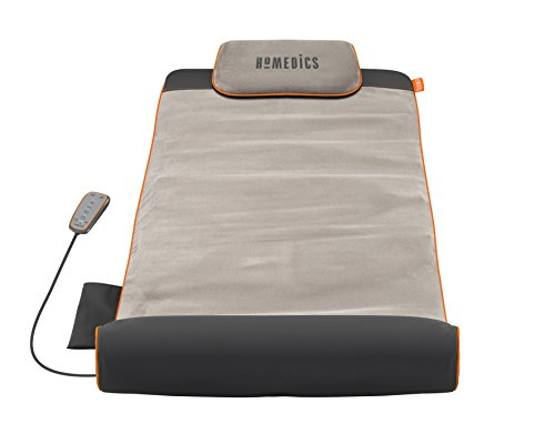 Homedics Stretch Stretchingmatte inspiriert durch Yoga, Yogamatte Gymnastikmatte Fitnessmatte mit 7 Luftkammern für Fitness und Entspannung, Dehnung...