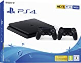 PlayStation 4 - konsol (500 GB, sort, slank, F-chassis) + ...