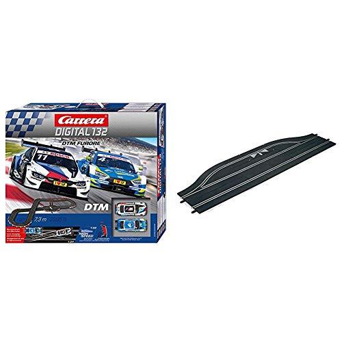Carrera DIGITAL 132 DTM Furore Autorennbahn Set │ 2 ferngesteuerte Slotcars...