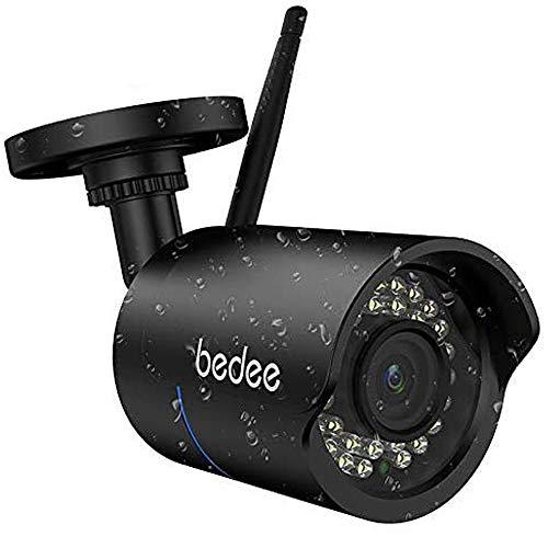 bedee WLAN IP Kamera 1080P HD Überwachungskamera Sicherheitskamera IP66...