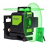 Huepar 902CG 2 x 360 križni laser, zelen, 360 stopinj ...