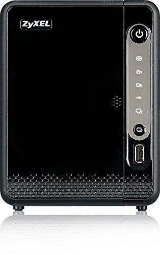Zyxel NAS326 8TB 2-Bay Persönlicher Cloud Speicher, 2X 4TB HDD, 512MB DDR3 RAM