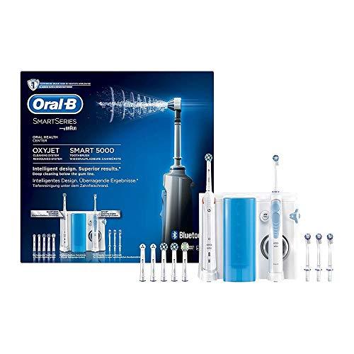 Oral-B Mundpflege-Center, SMART5000Elektrische Zahnbürste +OxyJet...