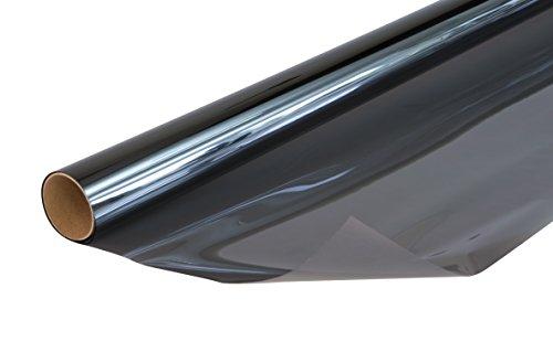 Venilia Sonnenschutzfolie, Thermofolie mit Hitzeschutz, Fensterfolie schützt vor Sonneneinblendung und eindringen von Wärme, inkl. Cutter und...