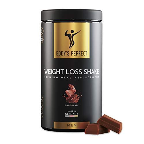 BODY'S PERFECT® Weight Loss Shake für Männer, Diät Shake zur...