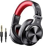 OneOdio Bluetooth Kopfhörer Over Ear Geschlossene HiFi Studiokopfhörer mit...