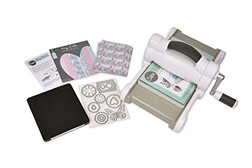 Sizzix 2118736004 Manuelle Stanz-und Prägemaschine 661545, mit 15,24 cm Öffnung, My Life Handmade Big Shot Set Maschine inklusive verschiedenem...