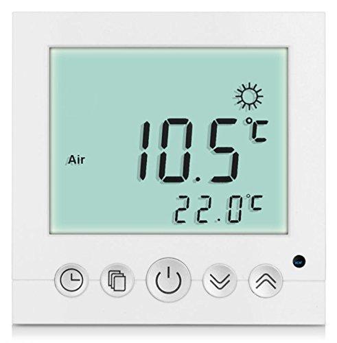 SM-PC®, Digital Thermostat Raumthermostat Fußbodenheizung Wandheizung LED...