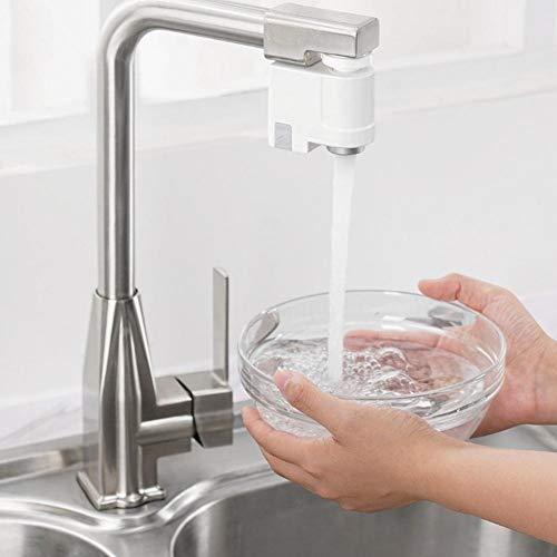 Cracklight Steadyuf Infrarotsensor Wasserhahn Waschbecken Wasserhahn Automatischer Sensor Wassersparvorrichtung - IPX6 Wasserdichter...