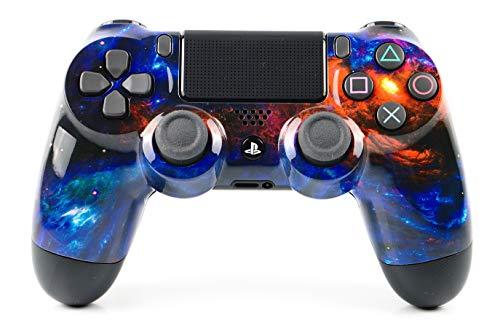 PlayStation 4 Pro Controller mit Paddles und Smart-Trigger - Paddles X+O DarkMatter Design – PS4 Pro Slim DualShock 4 PlayStation 4 Wireless...