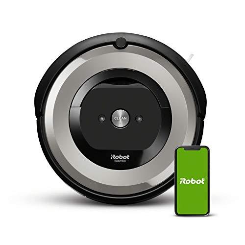 iRobot Roomba e5 (e5154) Saugroboter mit mit 3-stufigem Reinigungssystem, zwei...