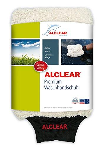 ALCLEAR Mikrofaser Handschuh zum Auto waschen mit Shampoo: besser als ein Auto...