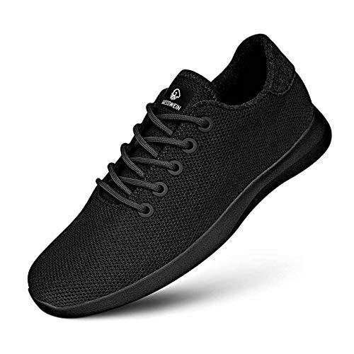 GIESSWEIN Merino Wool Knit Men - Atmungsaktive Sneaker für Herren aus 100% Merino Wolle, Sportliche Barfußschuhe, Freizeitschuh, Herrenschuhe,...