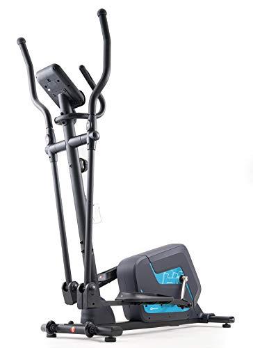 Magnet-Bremssystem skandika CardioCross Pegasos Crosstrainer mit 12 Trainingsprogrammen Niveauregulierung 12 kg Schwungmasse bis 150 kg belastbar