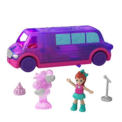 Polly Pocket GGC41 - Pollyville Limousine Puppen...