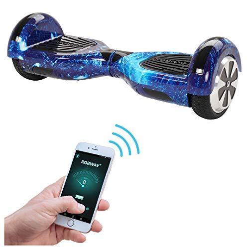 Robway W1 Hoverboard - Original - Samsung-merket batteri - Selvbalanse - 22 ...
