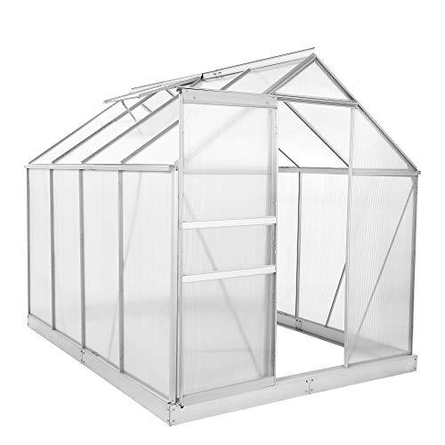 Zelsius - Aluminium Gewächshaus, Garten Treibhaus in verschiedenen Größen,...