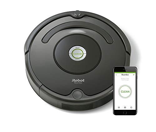 iRobot R676040 Roomba 676 Saugroboter, Polycarbonate, Schwarz