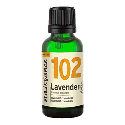 Naissance Lavendelöl 30ml BIO zertifiziert 100% naturreines ätherisches Öl
