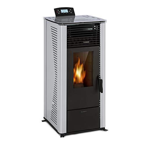 Waldbeck Energiewende Pelletofen Zimmerofen, Heizleistung: 5/10 kW, 5 Leistungsstufen / 5 Luftgeschwindigkeiten, programmierbarer Timer, Kapazität:...
