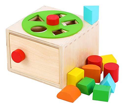 Toys of Wood Oxford Kinder Steckwürfel aus Holz -...