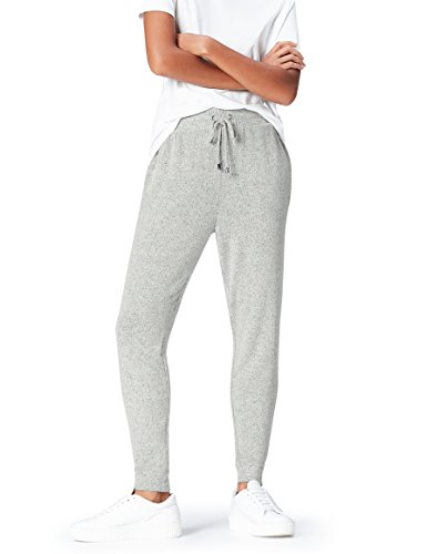 find. Joggers with Drawstring Waist and Tapered Cut Hose, Grey Marl), 36 (Herstellergröße: Small)