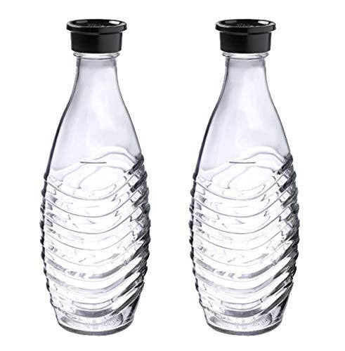 SodaStream DuoPack Glaskaraffe, Ersatzflaschen geeignet...