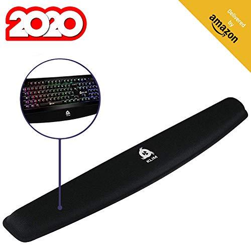 Mouse pad schwarz Gimars Handgelenkauflage f/ür Tastatur und Maus Handballenauflage mit Memory-Schaum ergonomisch zur Entlastung des Handgelenks