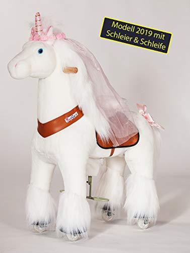PonyCycle Inline Animals by Einhorn Modell 2019 mit Schleier und Schleife...