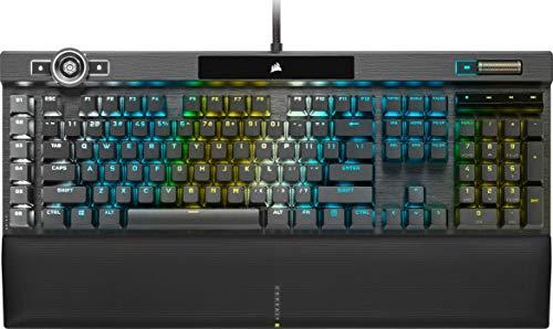 Corsair K100 RGB Optisch-Mechanische Gaming-Tastatur (CORSAIR OPX Optical:...