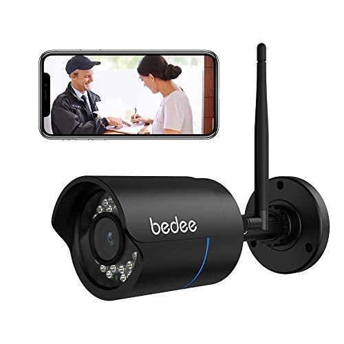 1080P HD Überwachungskamera, bedee Wlan IP Kamera...