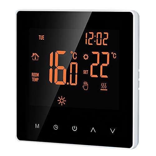 Smart Thermostat Digital Raumthermostat programmierbar LCD Display Touchscreen...