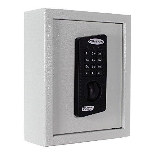 Rottner Schlüsseltresor Keytronic 20 mit Elektronikschloss – inkl. Notöffnung mittels Schlüssel – 20 GRATIS Schlüsselanhänger – für...